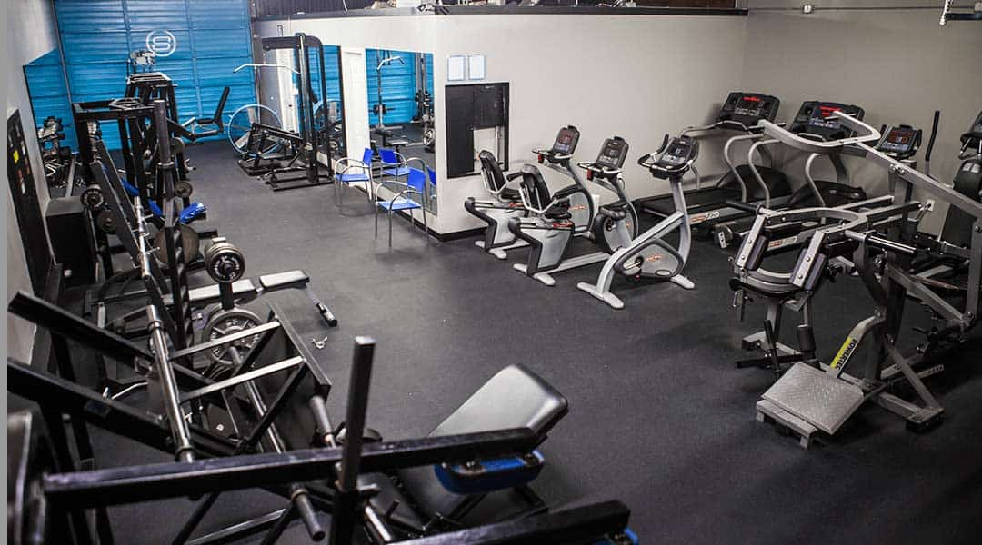 A showcase of Str8 Training's weight room